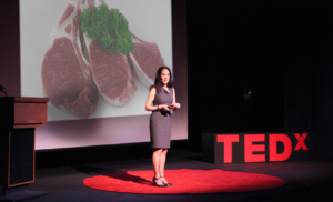 Heckler NIP TedX Reminds Speakers Not to Focus Entire Talk On Choice Meaty Cutlets (NOW WITH COLOR)